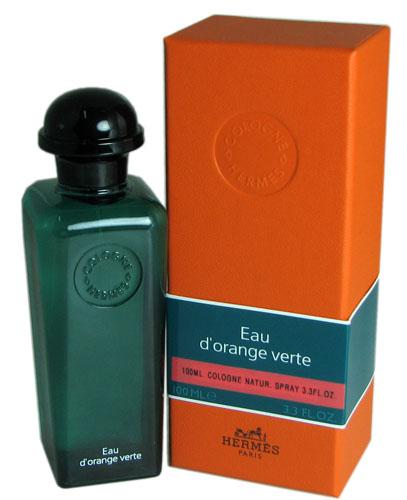 eau d 39 orange verte for men by hermes 3 3 oz edc eau de cologne spray new in box 3346130490685 ebay. Black Bedroom Furniture Sets. Home Design Ideas